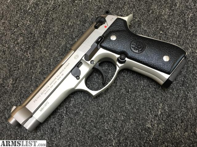 ARMSLIST - For Sale: Beretta 92FS 9mm Inox