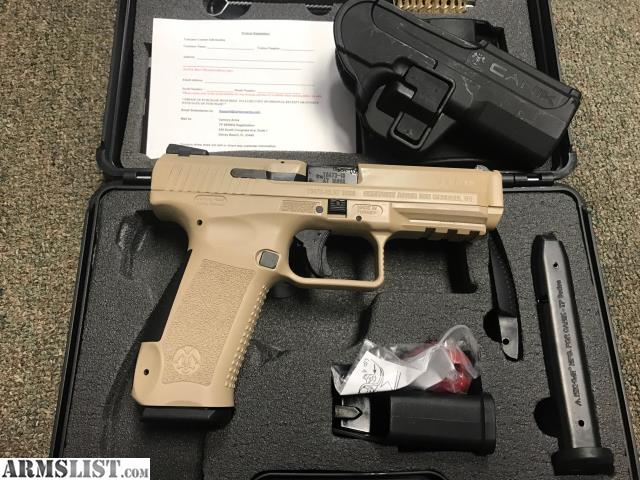 ARMSLIST - For Sale: New, Century Arms CANIK TP9SF