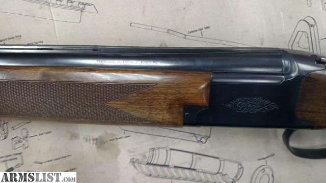 ARMSLIST - For Sale: Browning Acier 12ga O/U Shotgun