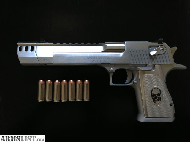 Armslist For Sale Brushed Chrome Desert Eagle 50 With