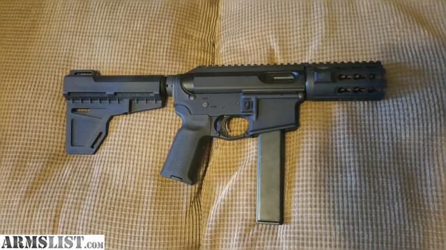 ARMSLIST - For Sale: 9mm AR15 colt mag build