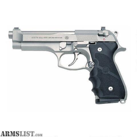ARMSLIST - For Sale: For Sale: 92FS-Brigadier 9mm Parabellum Inox w/ 2-17 rd magazines, $740.00