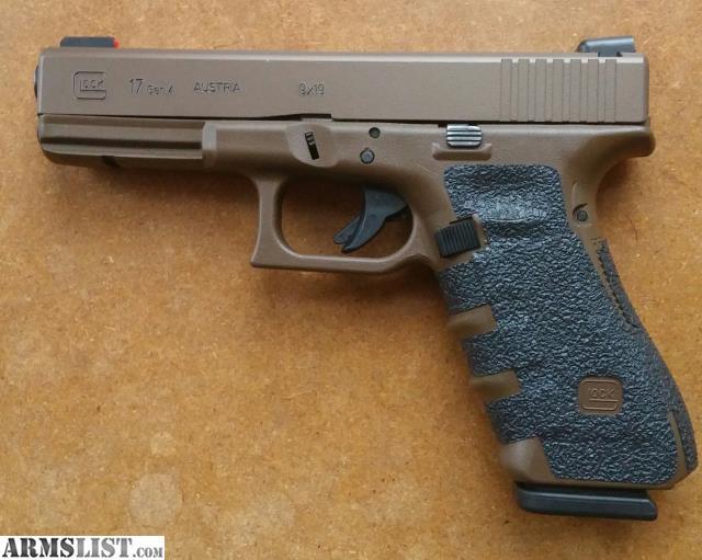 ARMSLIST - For Sale: Glock 17 Gen4 custom