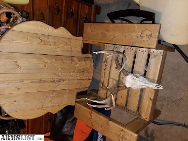 ARMSLIST For Sale Trade Trade Custom built skull chair
