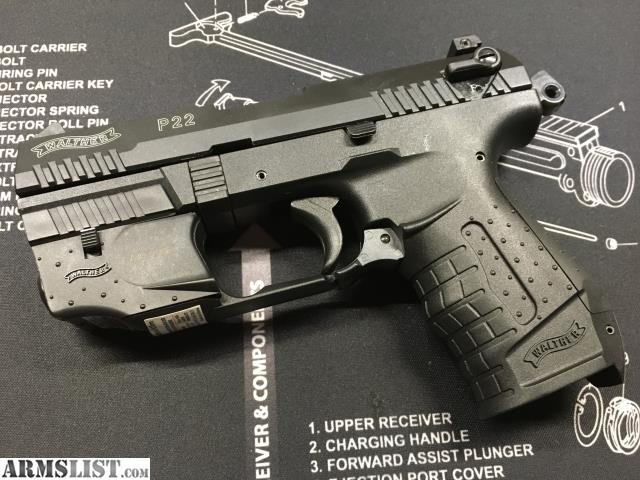 Walther P22 Laser Light