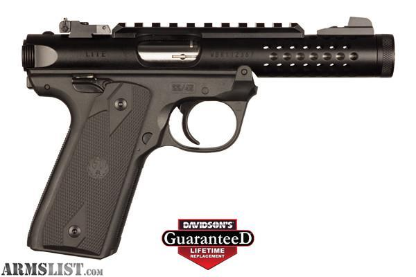 Armslist For Sale Ruger Mark Iv 22 45 Lite 22lr Black