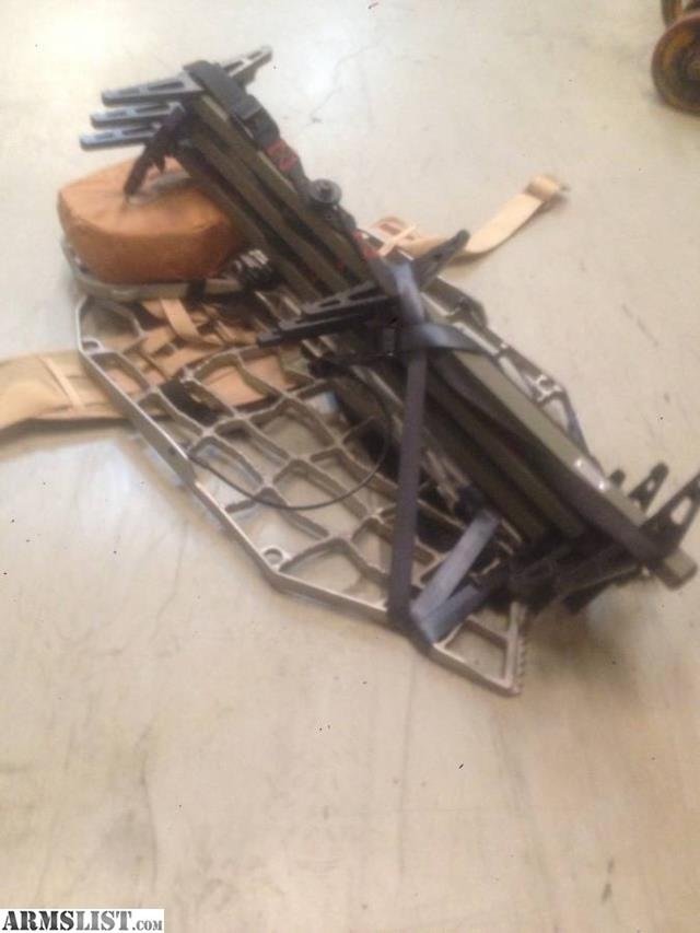 Armslist For Sale Xop Treestand With Sticks