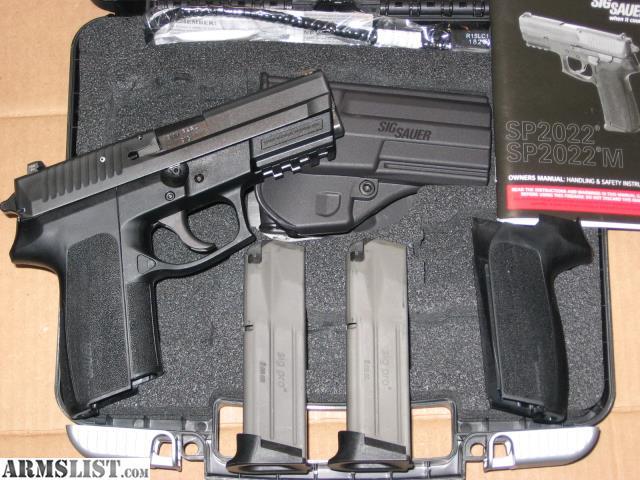 armslist for sale sig sauer sp2022 9mm nitron pistol w night rh armslist com Sig P229 Sig P226