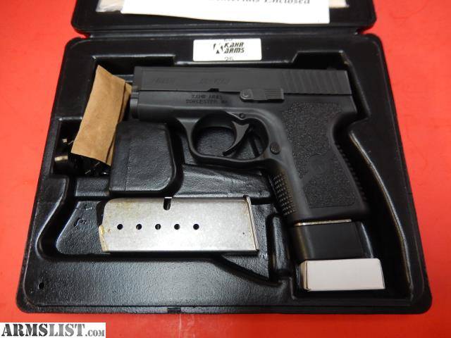 ARMSLIST - For Sale: NEW KAHR PM9 W/ DIAMOND BLACK SLIDE