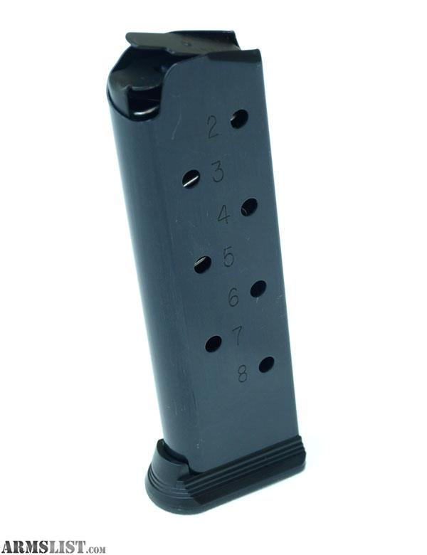 ARMSLIST - For Sale  1911  45ACP Extended 8 round magazines