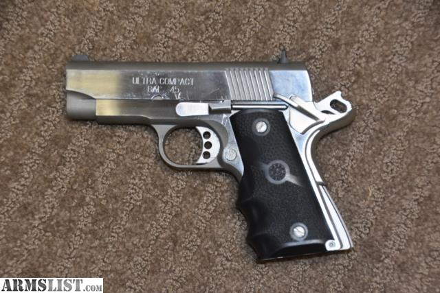 ARMSLIST - For Sale: Springfield Ultra Compact 45ACP Stainless Steel