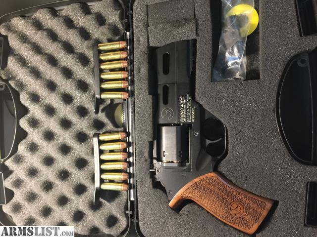 ARMSLIST - For Sale/Trade: Chiappa Rhino 40DS w/ ammo