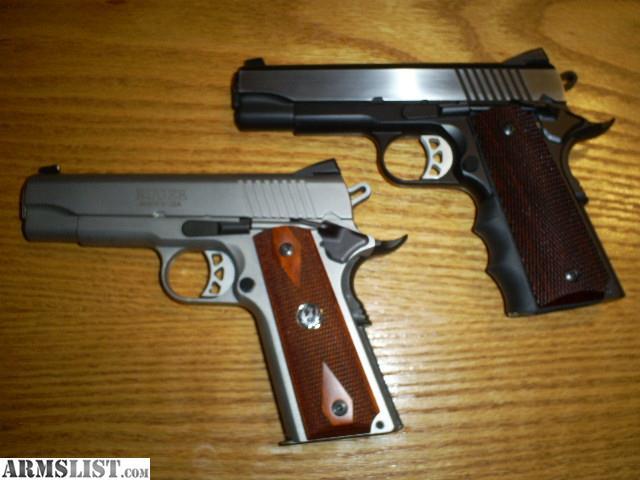 Armslist For Sale Trade Custom Ruger 1911 Commander