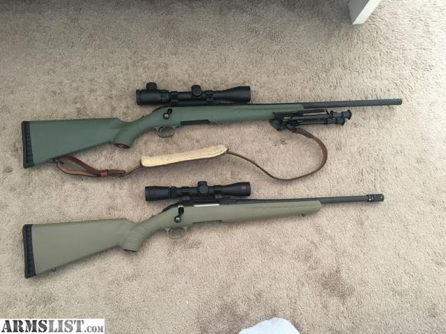 ARMSLIST - For Sale/Trade: Ruger Americans: 5.56 and 6.5 Creedmoor