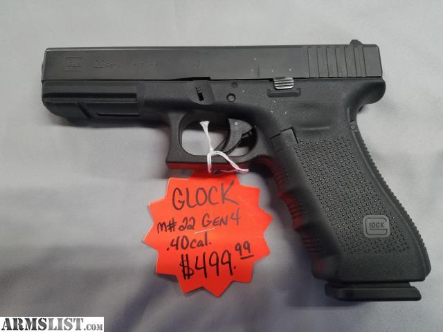 Armslist For Sale Glock 22 40 Cal Pistol