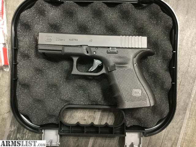 Armslist For Sale Glock 23 Gen4 40 Cal Reduced Price