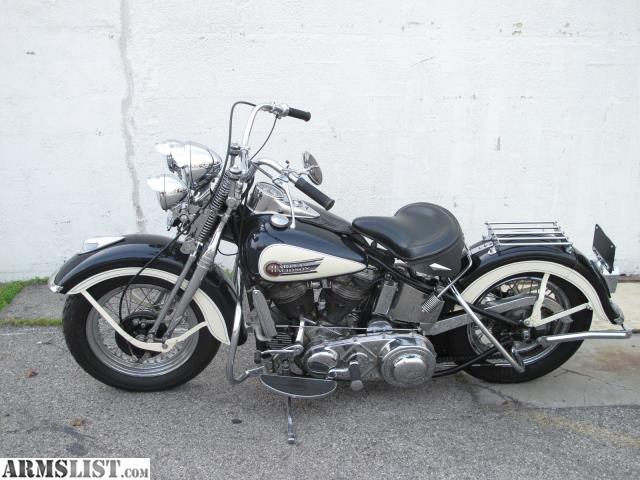 Harley Davidson: For Sale: 1949 HARLEY-DAVIDSON PANHEAD EL W