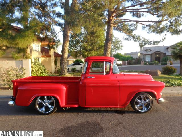 armslist for sale 1955 custom chevy 4500 truck. Black Bedroom Furniture Sets. Home Design Ideas