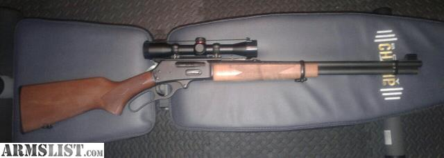 simmons 4x32. this rifle is a marlin 30-30, and it\u0027s in like new condition. comes as shown with the simmons 4x32 8 point scope. yes, i did get