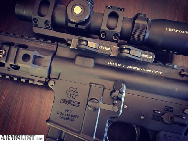 armslist for sale price drop aac 5 56 mpw ar 15 rifle