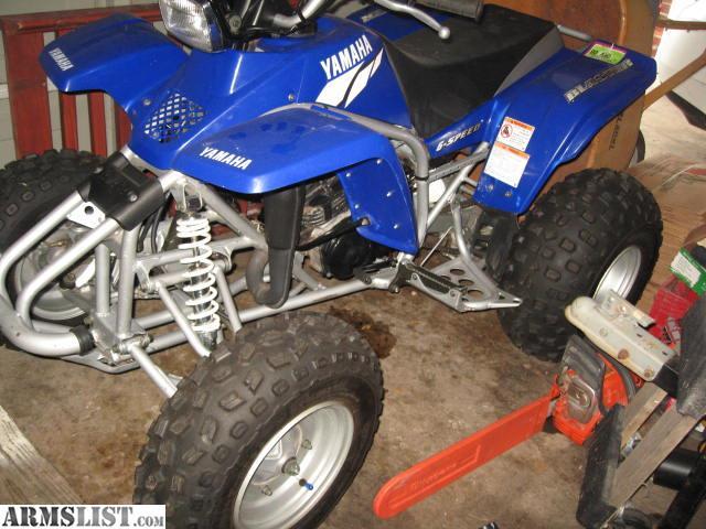 Yamaha Blaster kahl geschoren