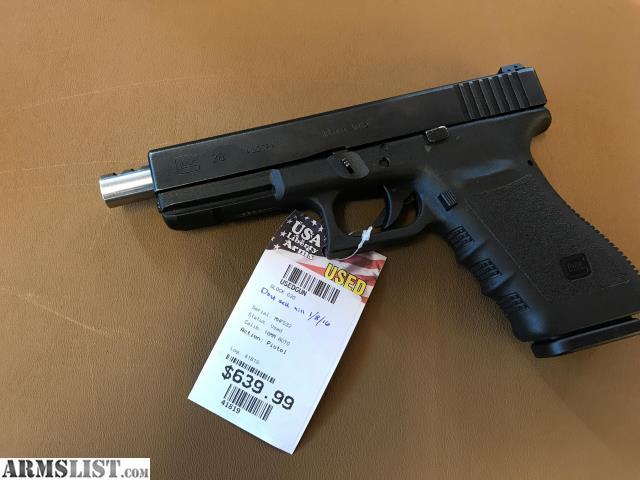 ARMSLIST - For Sale: 41819 Glock 20 gen 3 compensated barrel