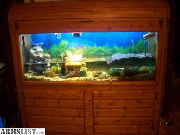 ARMSLIST - For Sale/Trade: 55gallon fish tank setup with ...