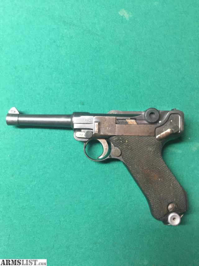 ARMSLIST - For Sale: German WW2 G date p08 Luger nazi 1935 S42