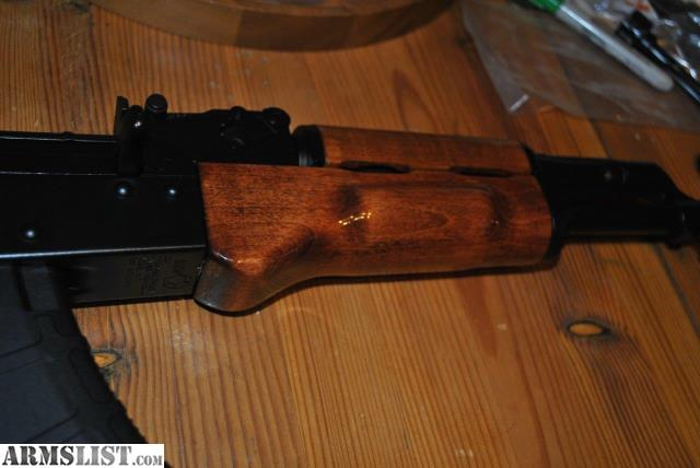 Here is a brand new hand finished wood furniture set for AK 47   AK 74    AKM   etc  This set is a beautiful Maple  finished in a dark  high gloss  walnut for. ARMSLIST   For Sale  NEW Custom AK47 Wood Furniture Set for AK 47
