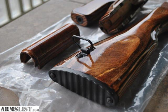 armslist for sale new custom ak47 wood furniture set