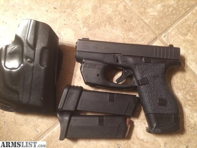 ARMSLIST - For Trade: Glock 43, and Glock 42 with nights ...