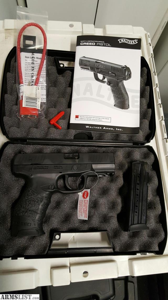 ARMSLIST - For Sale: SALE ! Walther CREED 9mm
