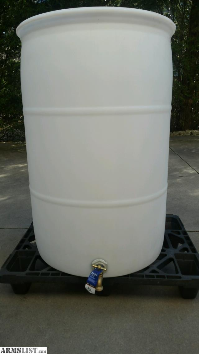 Armslist For Sale 55 Gal Plastic Water Drum
