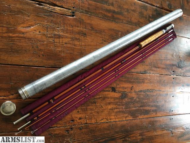 Armslist for sale trade vintage bamboo fly rod for Fly fishing rods for sale