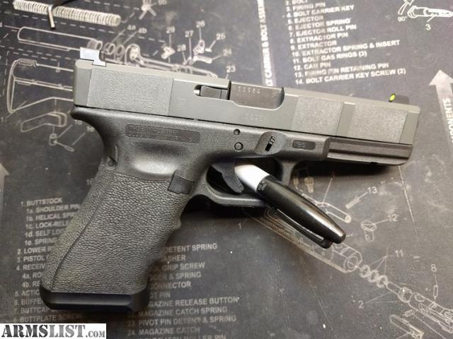 ARMSLIST - For Sale/Trade: Glock 17 gen 4, Custom Slide ...