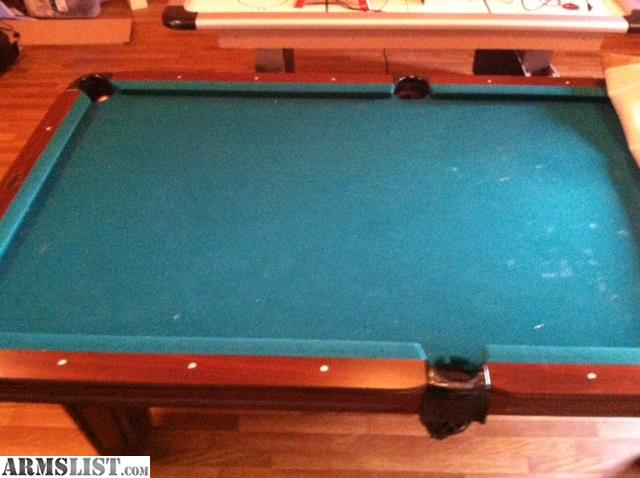 Artisan Designs Pool Table construction plans dog kennel Artisan Designs Pool Table With Accessories Good Condition Just Dont Use Felt Needs To Be Cleaned