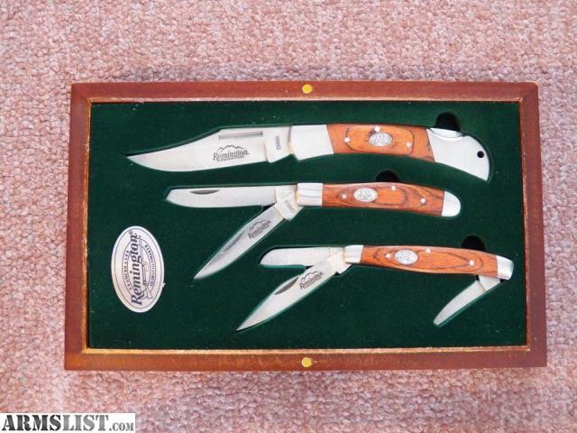 vintage remington knife values