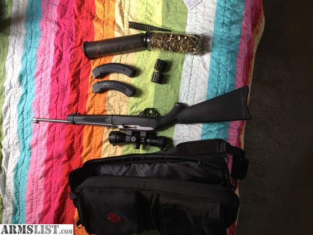 ARMSLIST - For Sale/Trade: Scoped Ruger 10/22 takedown