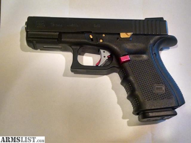 Armslist For Trade Glock Model 19 Gen 4 With Upgrades