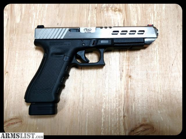 Glock 34 Stainless Slide