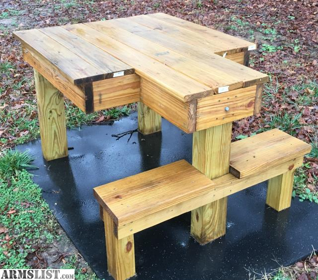 Armslist For Sale Treated Wood Ambidextrous Shooting Bench