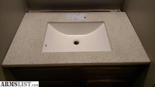 Armslist for sale for sale 31x19 two 37x22 bathroom for Bathroom vanity tops for sale