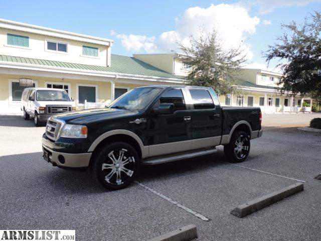 armslist for sale 2007 ford f 150 5 4l king ranch 4wd. Black Bedroom Furniture Sets. Home Design Ideas