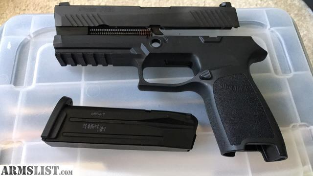 ARMSLIST - For Sale/Trade: Sig P320 9mm Full size Conversion