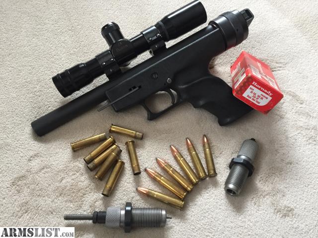 ARMSLIST - For Sale:  357 Herrett LONE EAGLE Single Shot