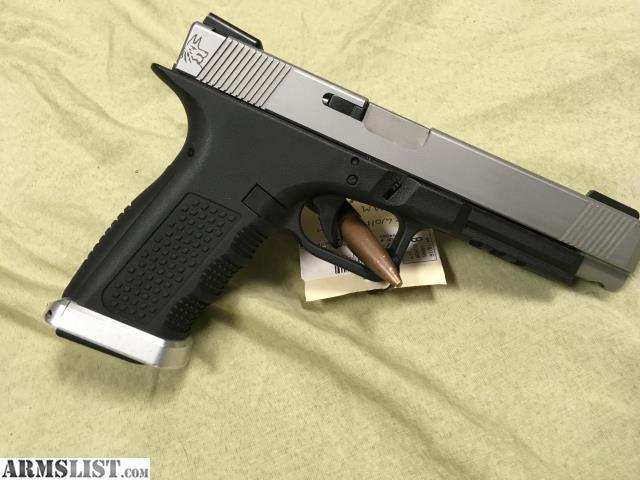 Custom Glock 34 Lone Wolf Long Slide Stainless: For Sale: Custom Gen