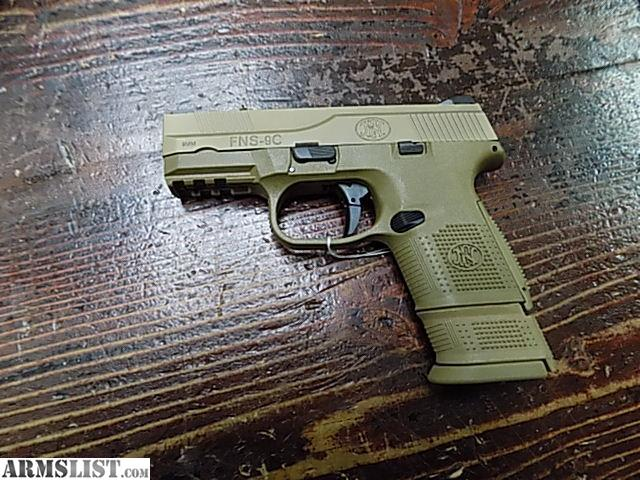Armslist For Sale Fn Fns 9c In Fde 9mm