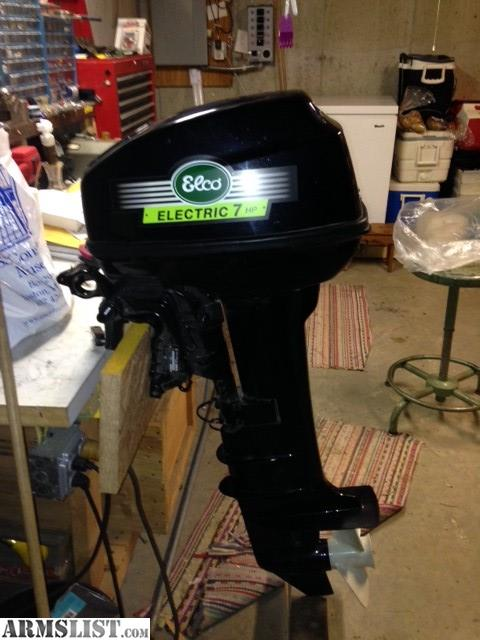 Armslist for sale electric outboard motor for Electric outboard motors for sale