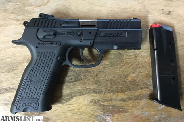 For Sale: Eaa Sar K2P 9mm Like New