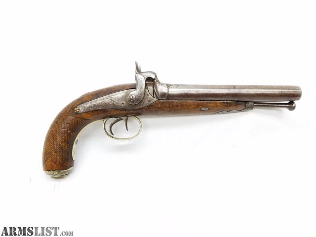 pistol double howdah ga percussion stk a228 armslist 1250 seller contact